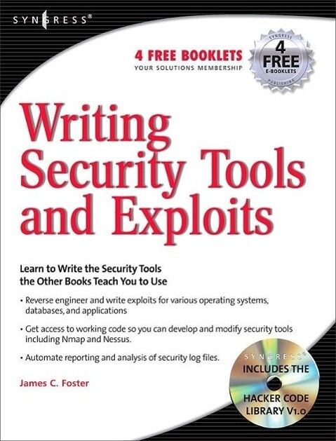 Writing Security Tools and Exploits als Buch