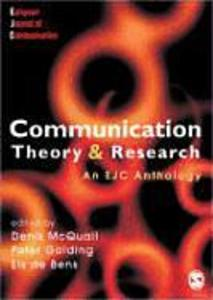 Communication Theory and Research als Buch