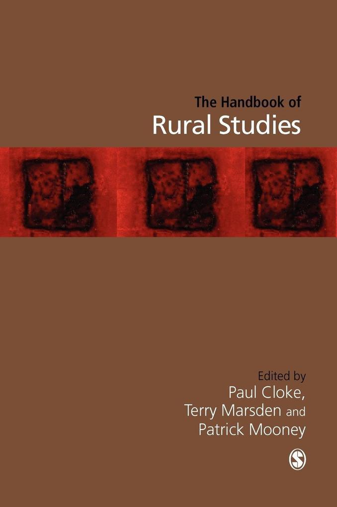 Handbook of Rural Studies als Buch
