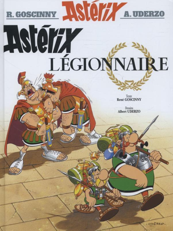 Asterix Französische Ausgabe 10. Legionnaire als Buch