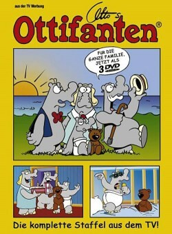 Ottos Ottifanten als DVD