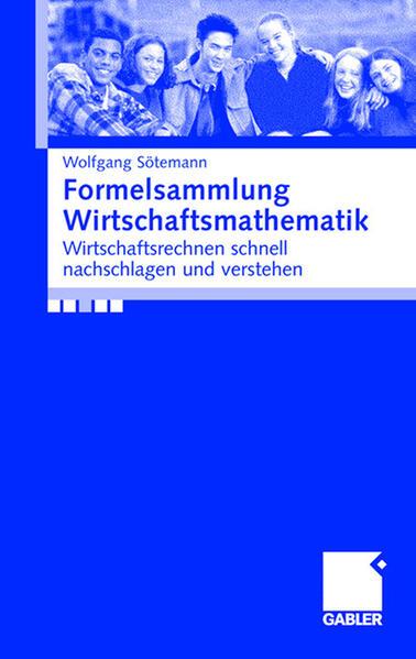 Formelsammlung Wirtschaftsmathematik als Buch