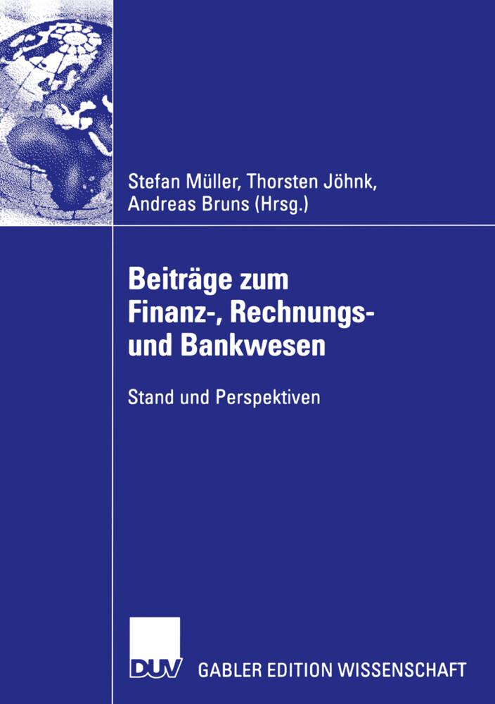 Beiträge zum Finanz-, Rechnungs- und Bankwesen als Buch