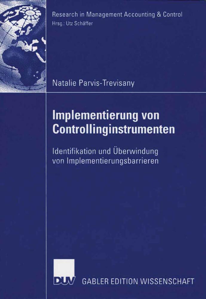 Implementierung von Controllinginstrumenten als Buch