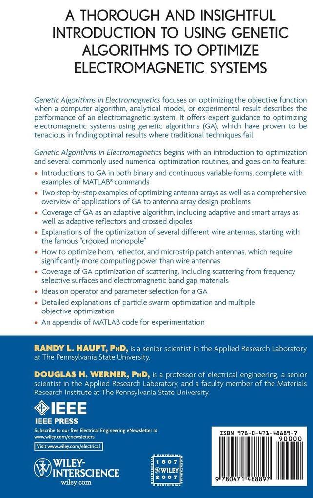 Genetic Algorithms als Buch