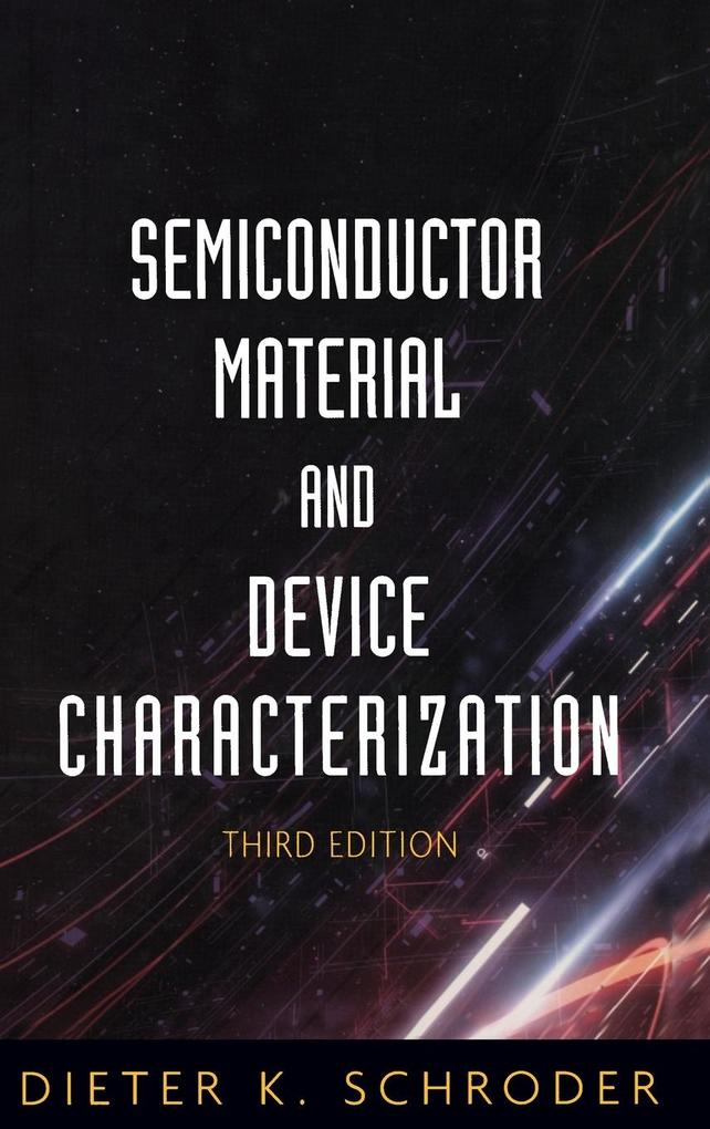 Semiconductor Material and Device Characterization als Buch