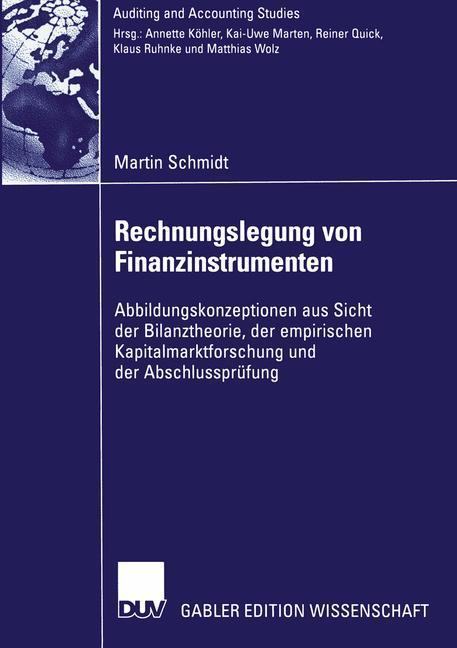 Rechnungslegung von Finanzinstrumenten als Buch