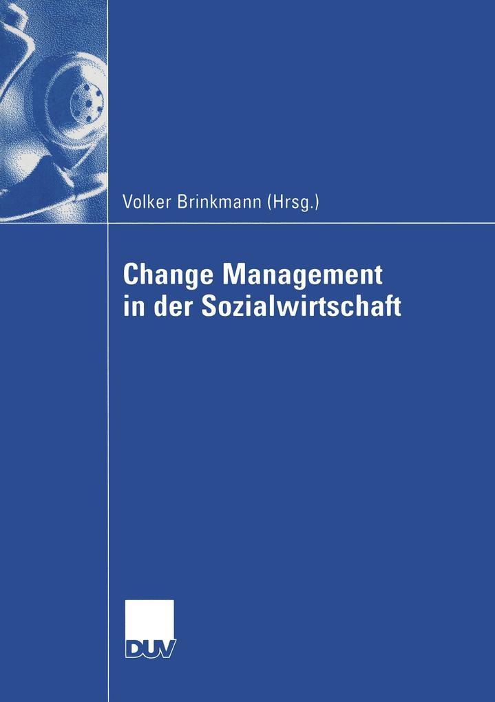Change Management in der Sozialwirtschaft als Buch