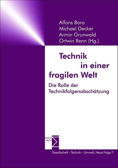 Technik in einer fragilen Welt als Buch