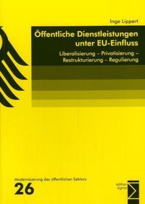 Öffentliche Dienstleistungen unter EU-Einfluss als Buch