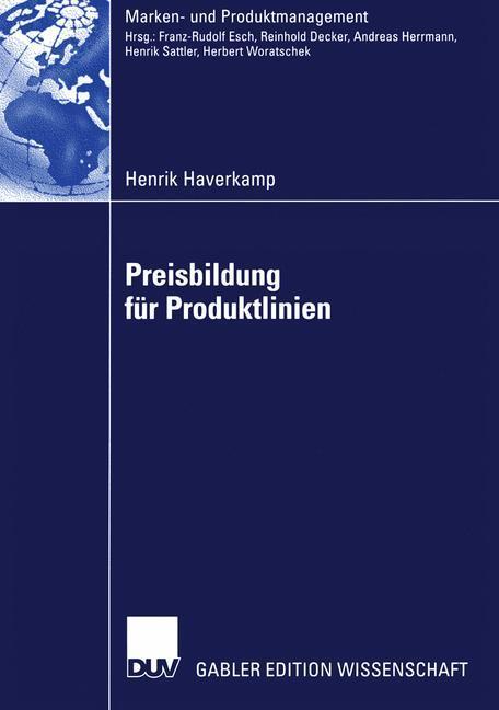 Preisbildung für Produktlinien als Buch
