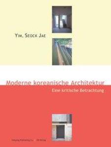 Moderne koreanische Architektur als Buch