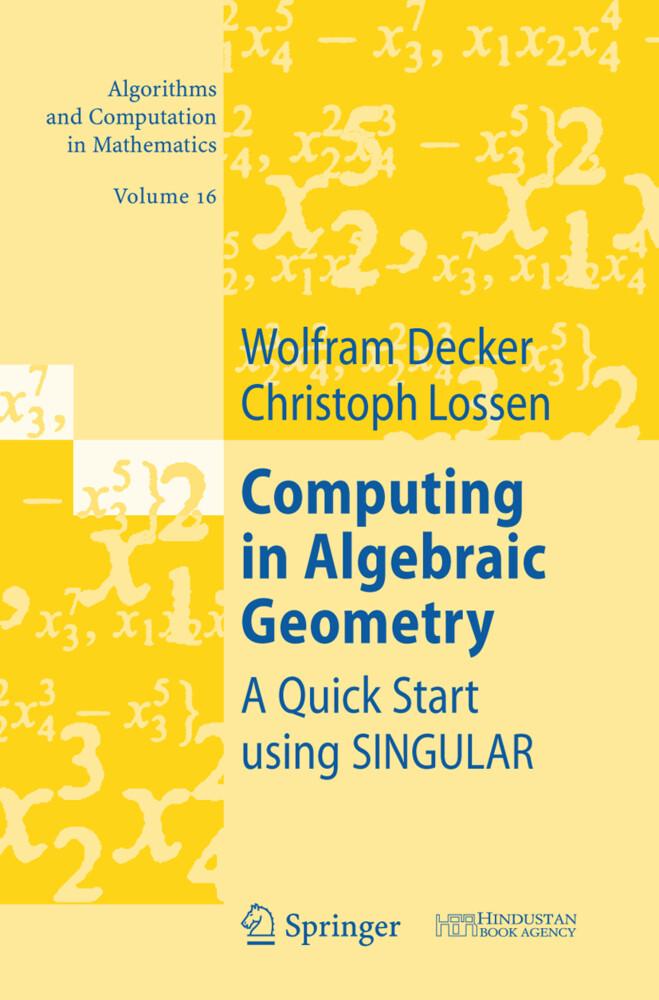 Computing in Algebraic Geometry als Buch