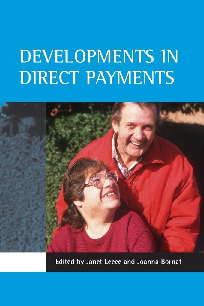 Developments in Direct Payments als Taschenbuch