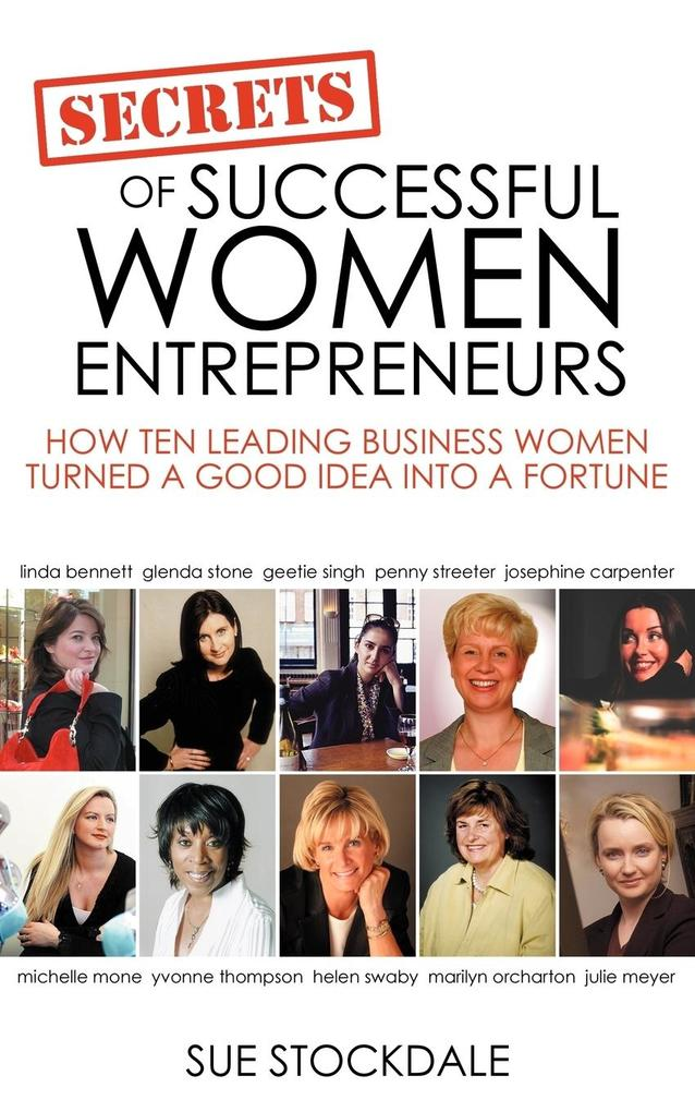 Secrets of Successful Women Entrepreneurs als Taschenbuch