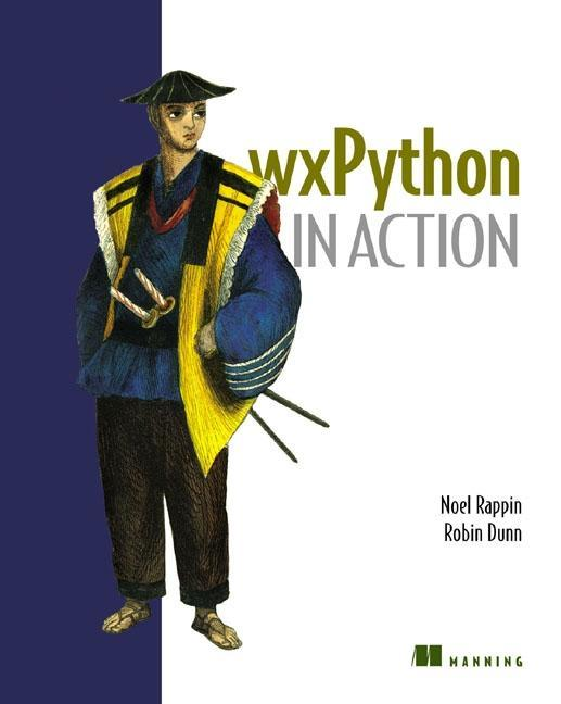 wxPython in Action als Buch