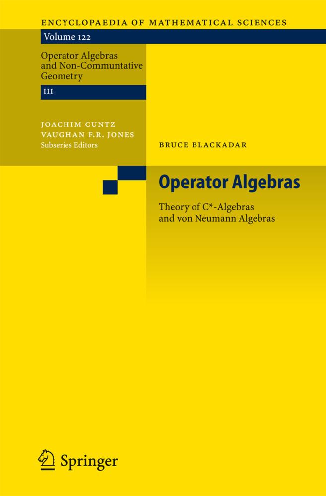 Operator Algebras als Buch
