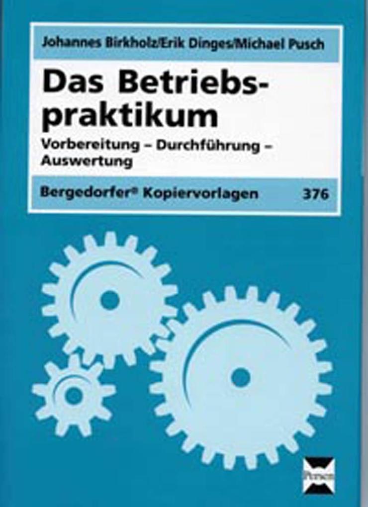 Das Betriebspraktikum als Buch