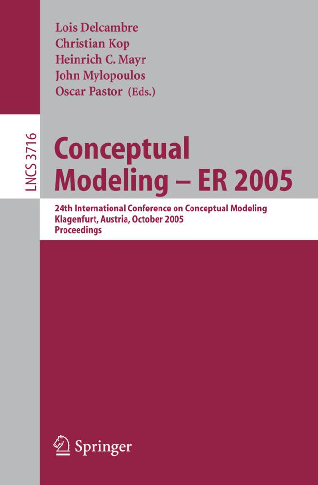 Conceptual Modeling - ER 2005 als Buch
