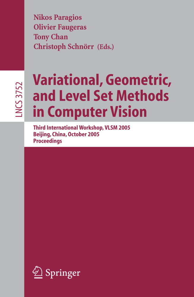 Variational, Geometric, and Level Set Methods in Computer Vision als Buch