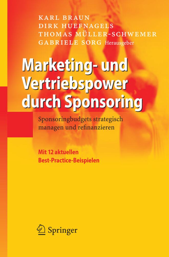 Marketing- und Vertriebspower durch Sponsoring als Buch