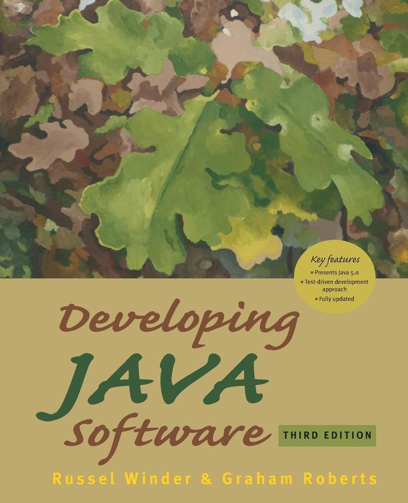 Developing Java Software als Buch
