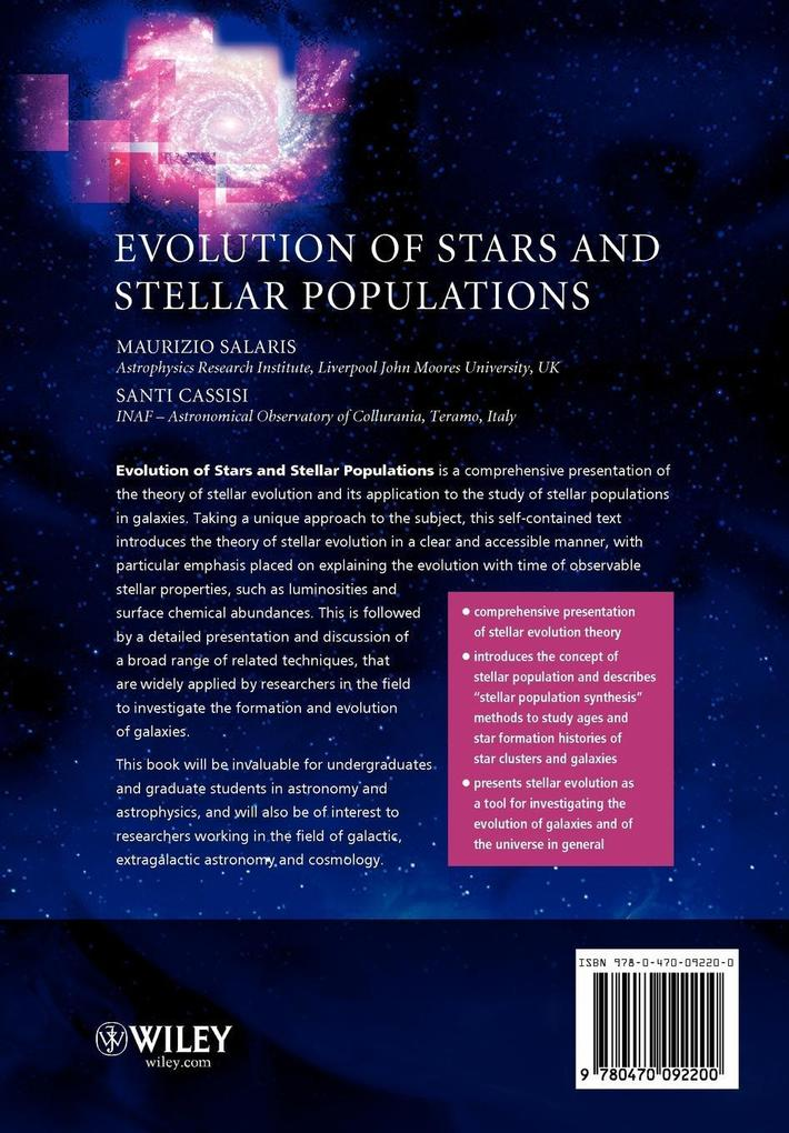 Evolution of Stars and Stellar als Buch