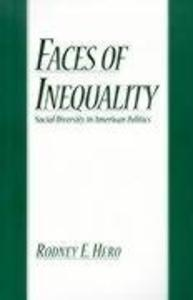 Faces of Inequality: Social Diversity in American Politics als Taschenbuch