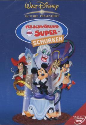 Verschwörung der Super-Schurken als DVD