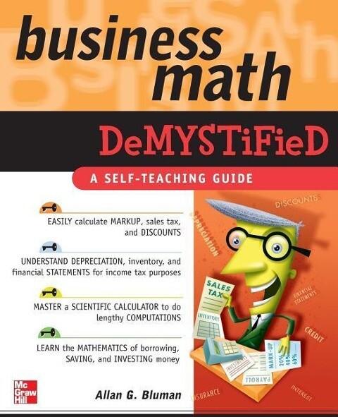 Business Math Demystified als Buch