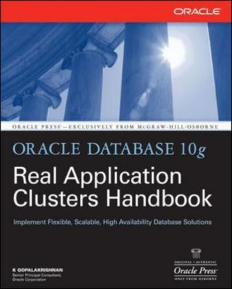 Oracle Database 10g Real Application Clusters Handbook als Buch