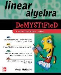 Linear Algebra Demystified als Buch