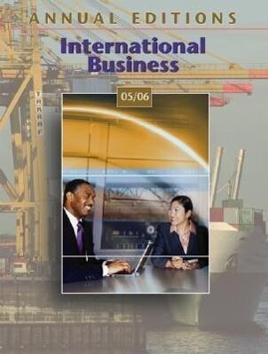 Annual Editions: International Business 05/06 als Taschenbuch