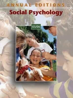 Annual Editions: Social Psychology 05/06 als Taschenbuch