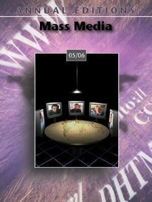 Annual Editions: Mass Media 05/06 als Taschenbuch