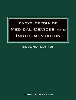 Encyclopedia of Medical Devices and Instrumentation,, 6 Volume Set als Buch