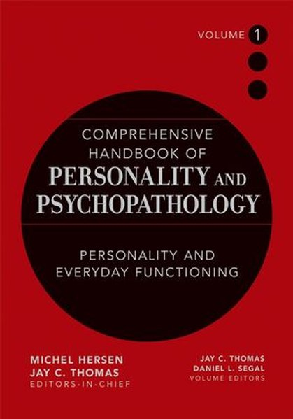 Comprehensive Handbook of Personality and Psychopathology, Personality and Everyday Functioning als Buch