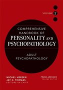 Comprehensive Handbook of Personality and Psychopathology, Adult Psychopathology