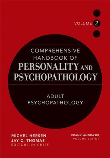 Comprehensive Handbook of Personality and Psychopathology, Adult Psychopathology als Buch