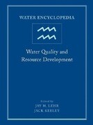 Water Encyclopedia, Water Quality and Resource Development