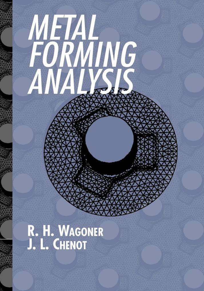 Metal Forming Analysis als Taschenbuch