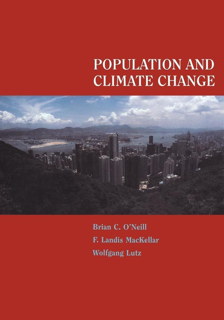 Population and Climate Change als Taschenbuch