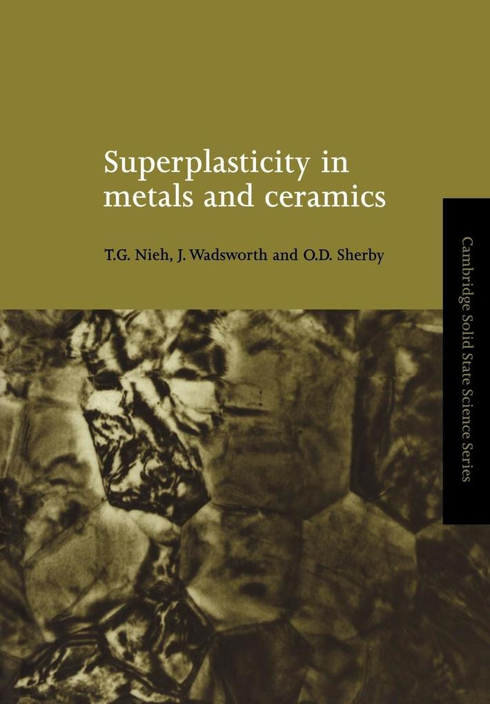 Superplasticity in Metals and Ceramics als Buch