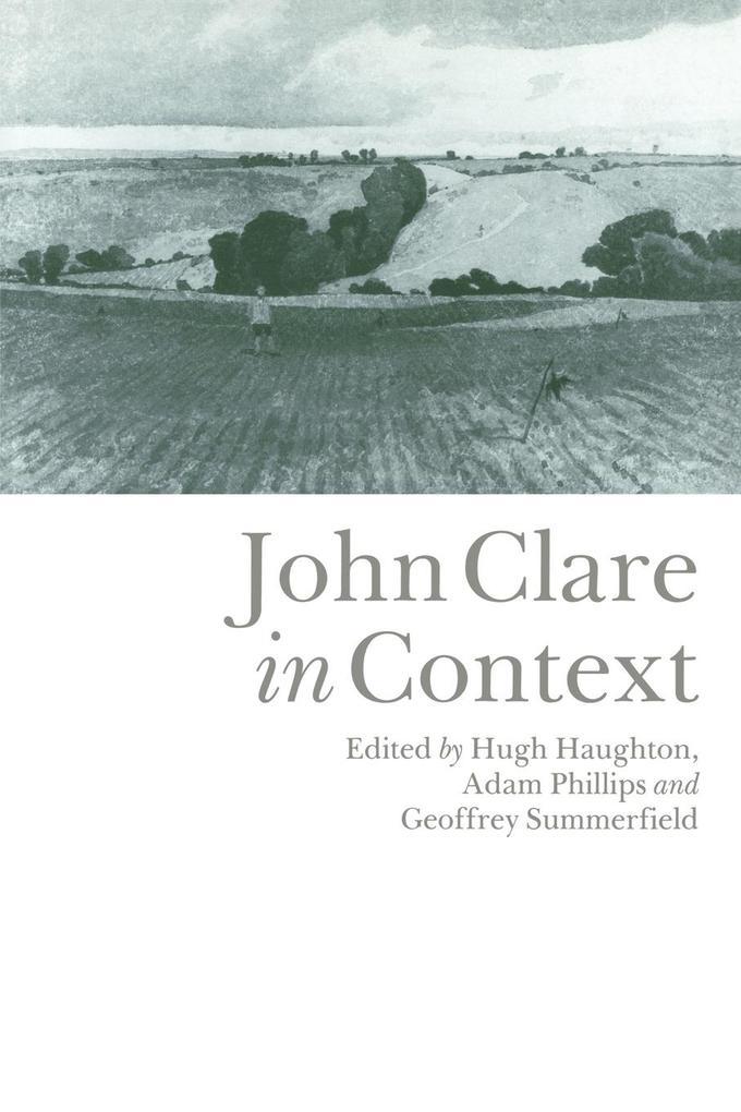 John Clare in Context als Buch
