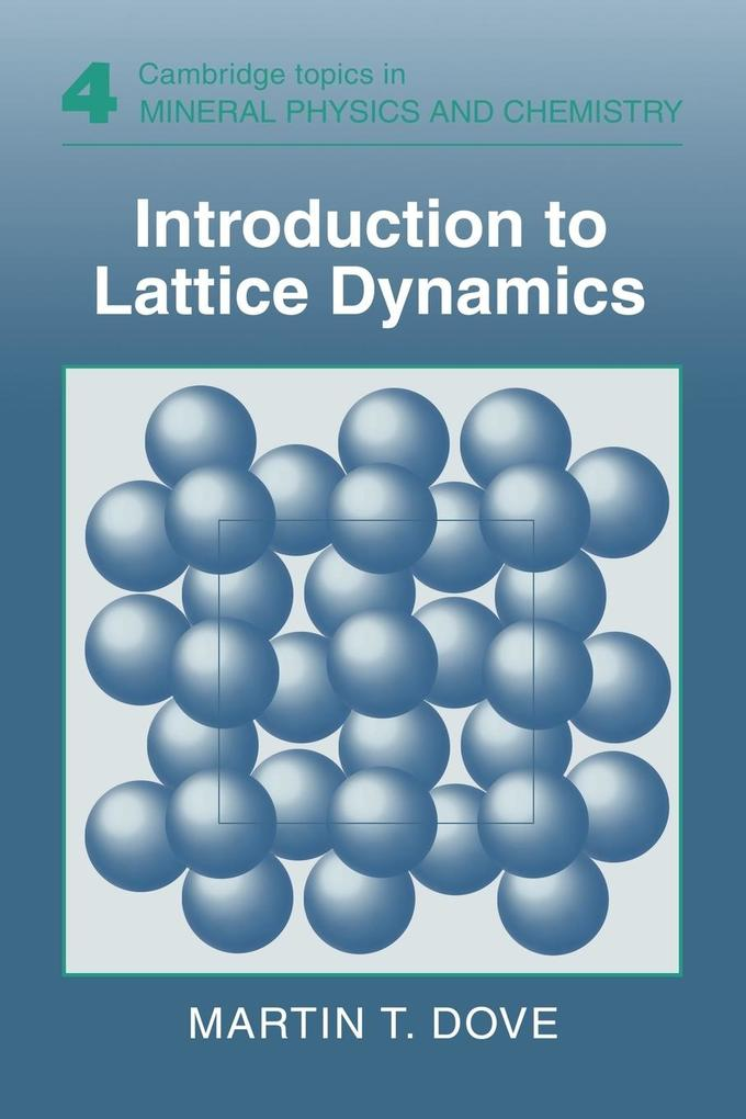 Introduction to Lattice Dynamics als Buch