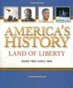 American History Land of Liberty: Student Reader, Book 2 als Taschenbuch