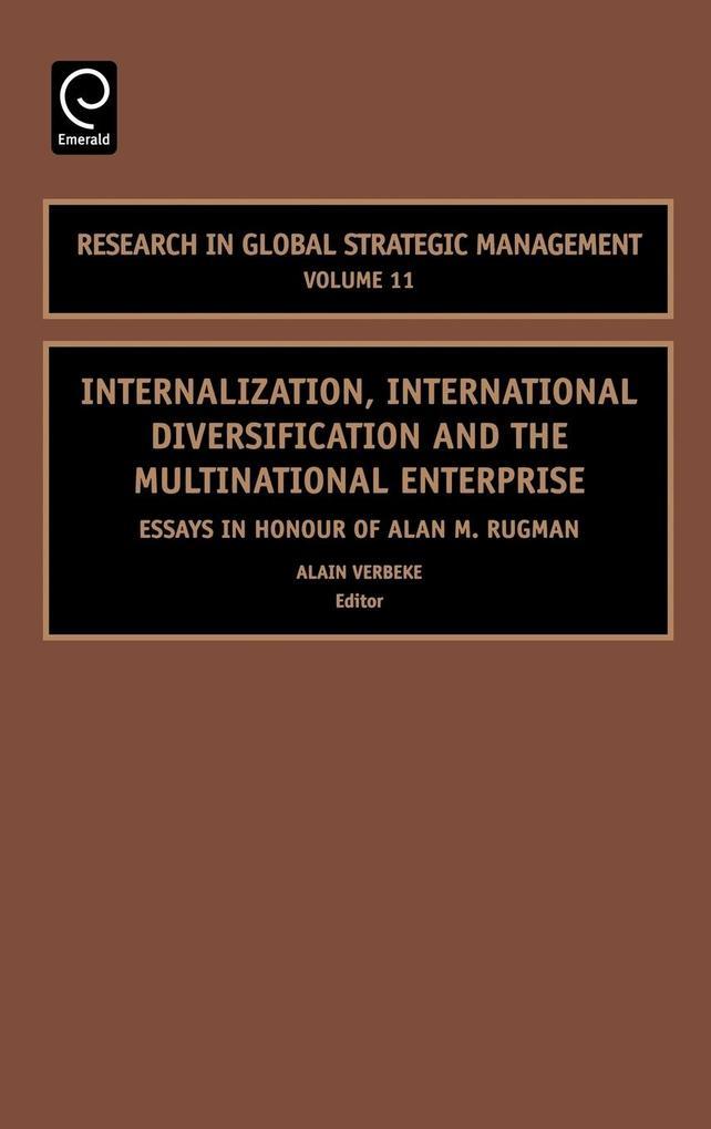 Internalization, International Diversification and the Multinational Enterprise als Buch