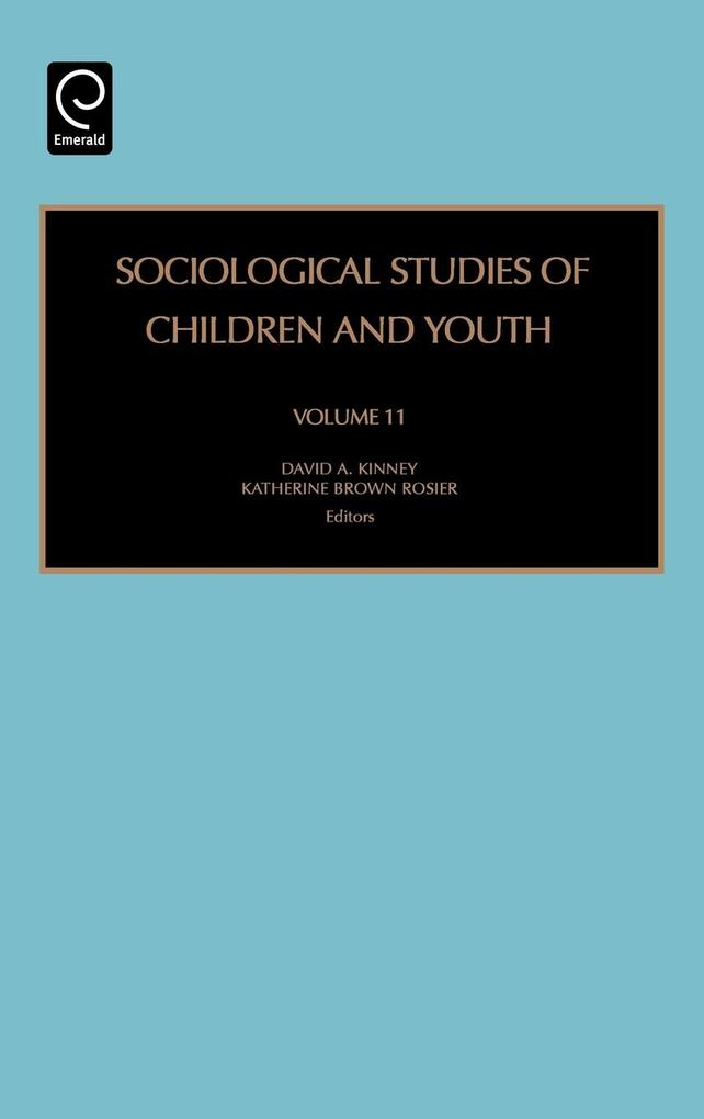 Sociological Studies of Children and Youth als Buch