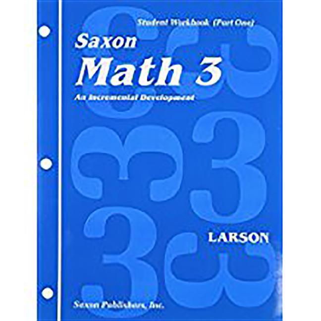 Saxon Math 3 1st Edition Student Workbook & Materials als Taschenbuch