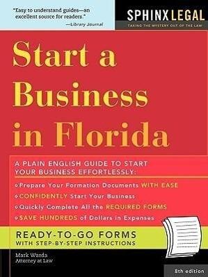 Start a Business in Florida als Taschenbuch